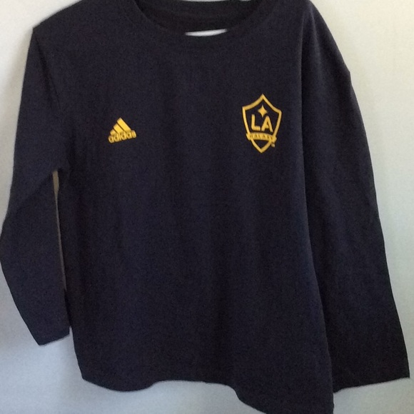 official photos ee67d 0484a LA Galaxy Child Small Long Sleeve Shirt EUC